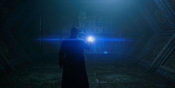 Guardians of the Galaxy: Chris Pratt in una scena del film
