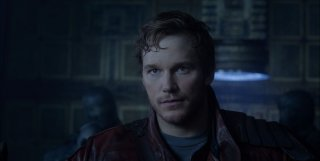 Guardians of the Galaxy: un primo piano di Chris Pratt