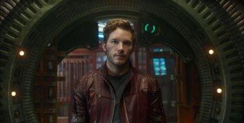 Guardians of the Galaxy: Chris Pratt in una scena