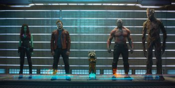 Guardians of the Galaxy: il team al completo