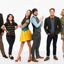 Manhattan Love Story: il cast in un'immagine promozionale