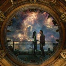 Guardiani della Galassia: Chris Pratt in un'intensa scena con Zoe Saldana