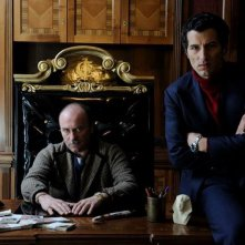 Francesco Scianna e Gianfranco Gallo in una foto promozionale de I Milionari