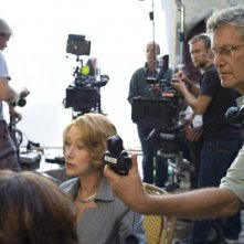 Amore, Cucina e Curry: Helen Mirren con Lasse Hallström sul set del film