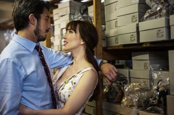 Tutto molto bello: Chiara Francini e Paolo Ruffini in intimità in una scena del film