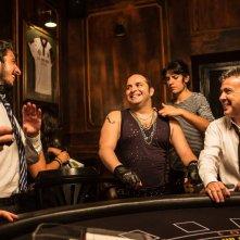 Tutto molto bello: Paolo Ruffini con Pupo e Gianluca Fubelli in un'immagine dal set