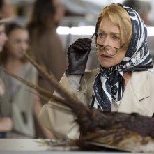 Amore, Cucina e Curry: Helen Mirren è Madame Mallory in una scena del film