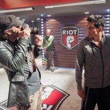 Matador: Gabriel Luna e Robert Rodriguez sul set
