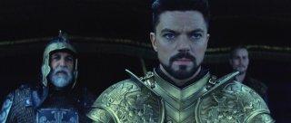 Dracula Untold: Dominic Cooper in una scena del film