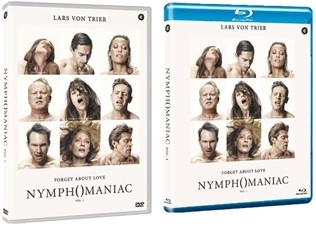 Le cover homevideo di Nymphomaniac - Volume 1