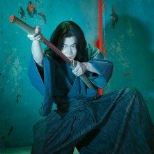 Lupin - Il Film: Go Ayano, interprete del personaggio di Goemon, in una foto promozionale