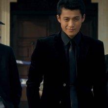 Lupin - Il Film: Oguri Shun con Tetsuji Tamayama e Meisa Kuroki in una scena
