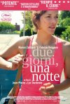 Locandina italiana di Due giorni, una notte