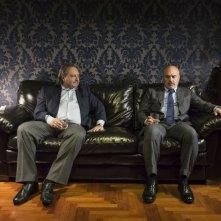 Perez.: Luca Zingaretti con Gianpaolo Fabrizio in una scena