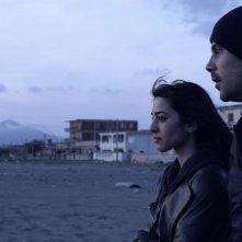 Perez.: Marco D'Amore e Simona Tabasco in una scena