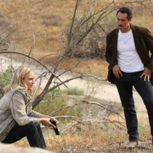 The Bridge: Diane Kruger con Demian Bichir nell'episodio Jubilex