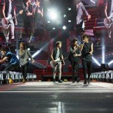 Una scena di One Direction: Where We Are – Il Film concerto