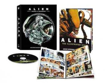 Il package del blu-ray di Alien - 35° anniversario