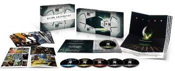 Il package del blu-ray di Alien Quadrilogy - 35° anniversario Edizione Nostromos