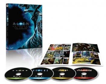 Il package del blu-ray di Alien Quadrilogy - 35° anniversario