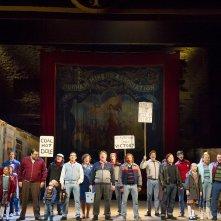Billy Elliot - Il Musical: una scena dello spettacolo teatrale che sbarca nei cinema
