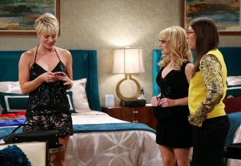The Big Bang Theory: Kaley Cuoco, Melissa Rauch e Mayim Bialik in The Focus Attenuation