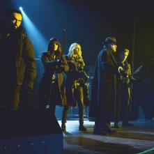 The Strain: il cast in una scena di The Master