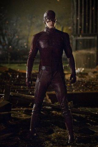 The Flash: il protagonista Grant Gustin nella puntata City of Heroes