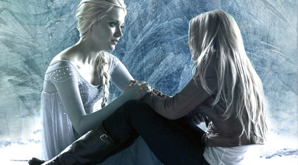 C'era una volta: Jennifer Morrison e Georgina Haig in una foto promozionale di White Out