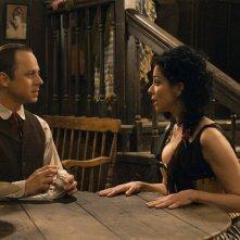 Un milione di modi per morire nel West: Giovanni Ribisi con Sarah Silverman in un momento del film