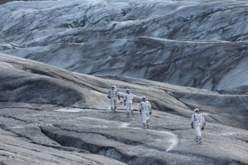 Interstellar: una suggestiva scena del film
