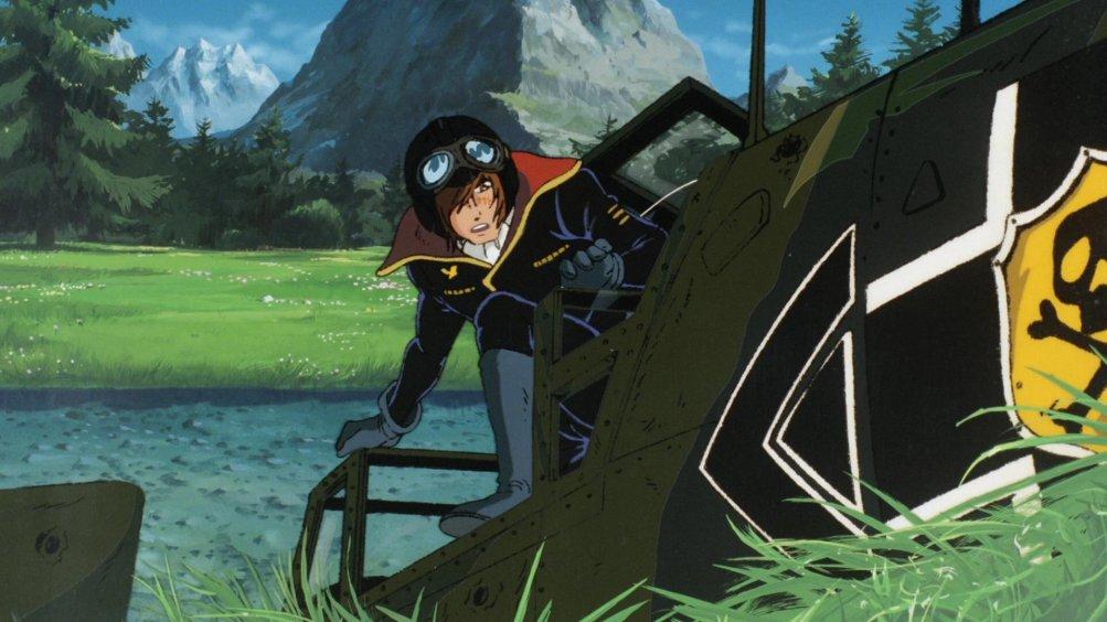 Una scena tratta dal film d'animazione Capitan Harlock - L'Arcadia della mia giovinezza