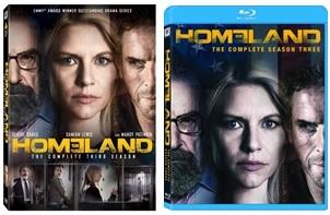 Le cover homevideo di Homeland - Stagione 3