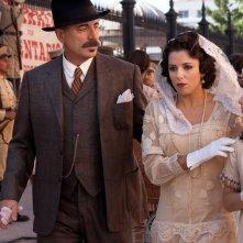 Cristiada: Eva Longoria con Andy Garcia in una scena del film