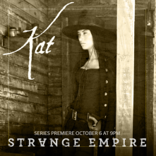 Strange Empire: Cara Gee in un'immagine promozionale