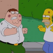 The Simpsons Guy: faccia a faccia Peter/Homer nel crossover Simpson/Griffin