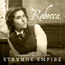 Strange Empire: Melissa Farman in un'immagine promozionale