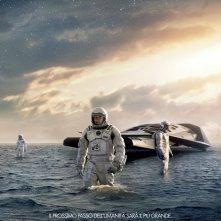 Uno dei teaser poster italiani del fantascientifico Interstellar