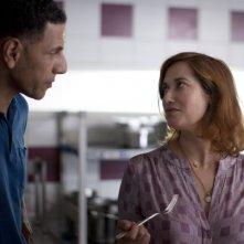 La moglie del cuoco: Emmanuelle Devos e Roschdy Zem coniugi in crisi in una scena del film