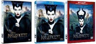 Le cover homevideo di Maleficent