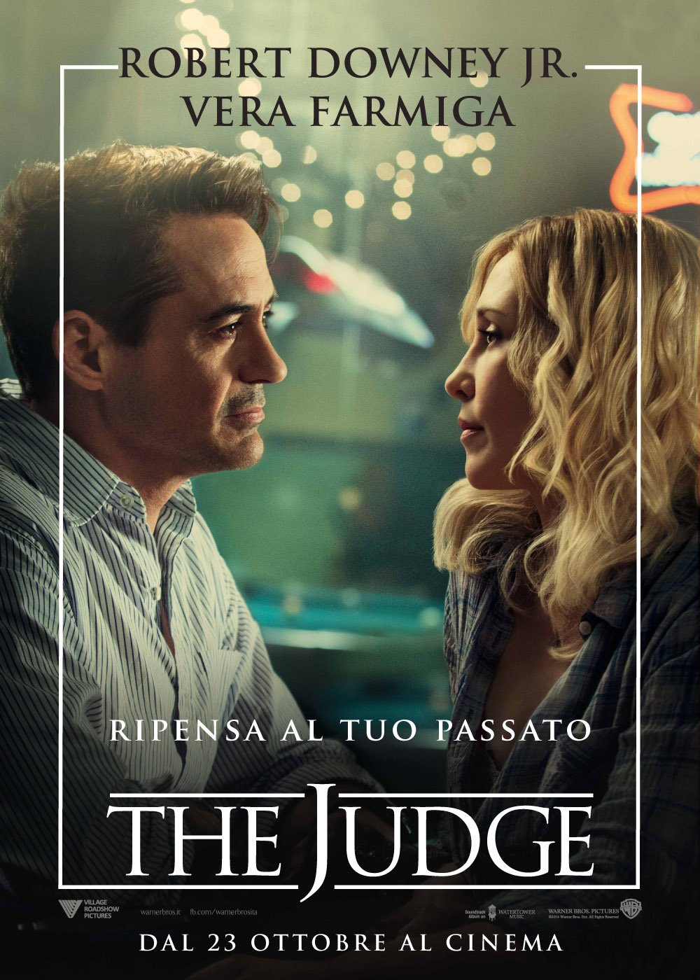 Character Poster di The Judge con Robert Downey jr. e Vera Farmiga