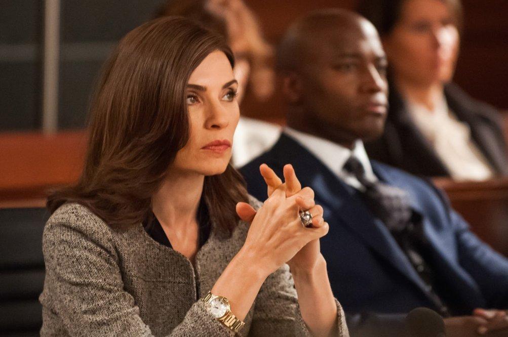 The Good Wife: Julianna Margulies in una scena dell'episodio Dear God