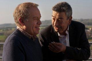 Gianni di Gregorio con Marco Marzocca in un momento di Buoni a nulla