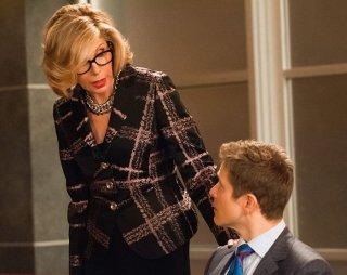 The Good Wife: Christine Baranski e Matt Czuchry in una scene dell'episodio Dear God