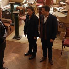 Forever: Jack Gilpin, Ioan Gruffud e Alana De La Garza nell'episodio The Art of Murder