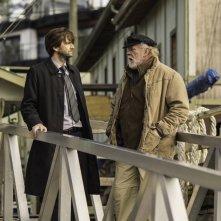 Gracepoint: gli attori David Tennant e Nick Nolte nel secondo episodio della serie