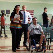 Grey's Anatomy: Sara Ramirez e Kevin McKidd interpretano una scena dell'episodio Got to Be Real