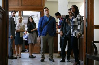 How To Get Away With Murder: i protagonisti nell'episodio Smile, or Go to Jail