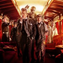 Doctor Who: il poster promozionale dell'episodio Mummy On The Orient Express