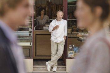 Gemma Bovery: Fabrice Luchini in una scena del film